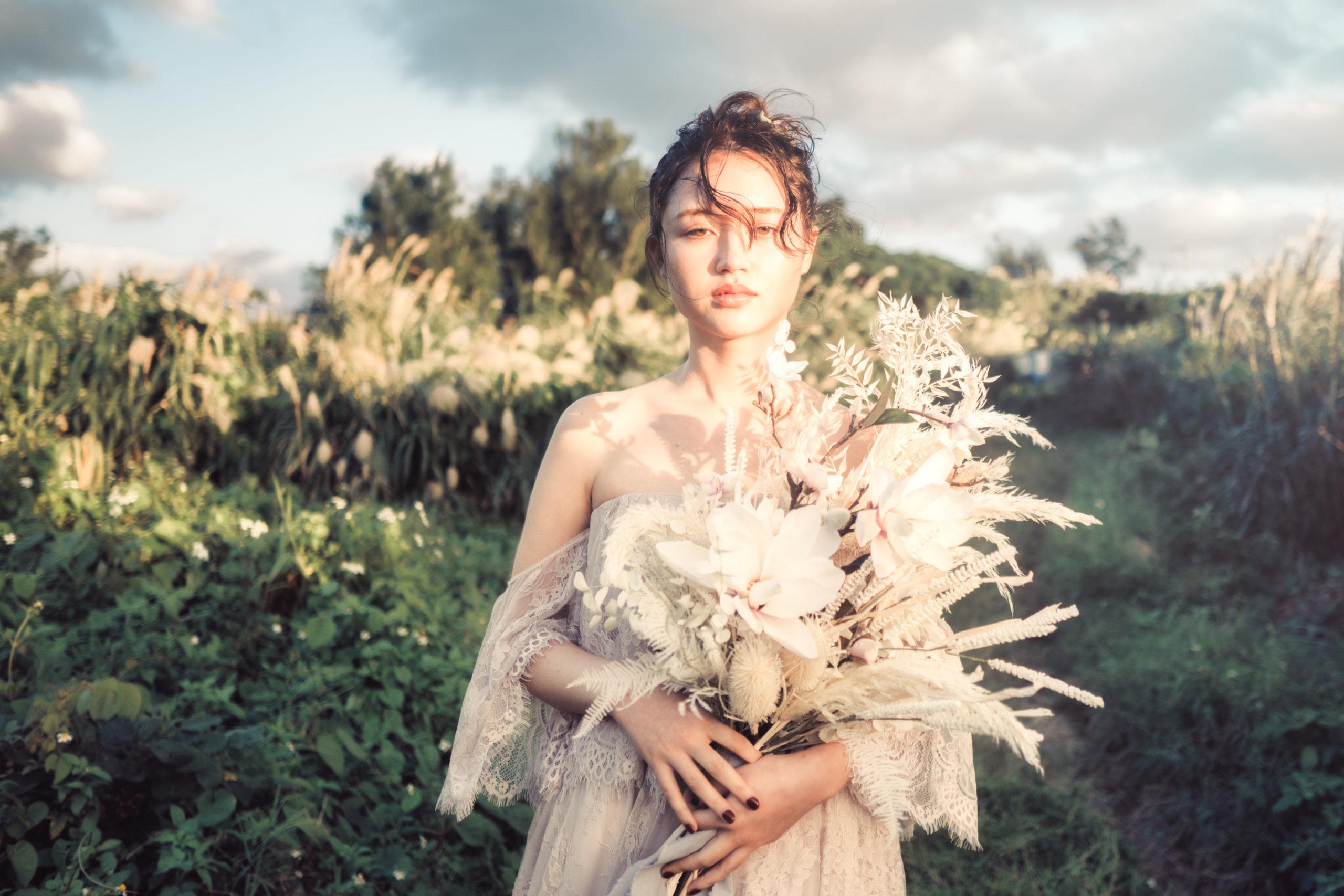 ウエディングドレス沖縄